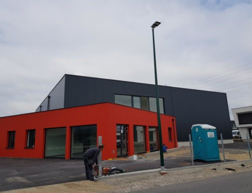 "PROJEKTUPDATE – ""Neubau Büro und Lager Staplerprofi GmbH"""
