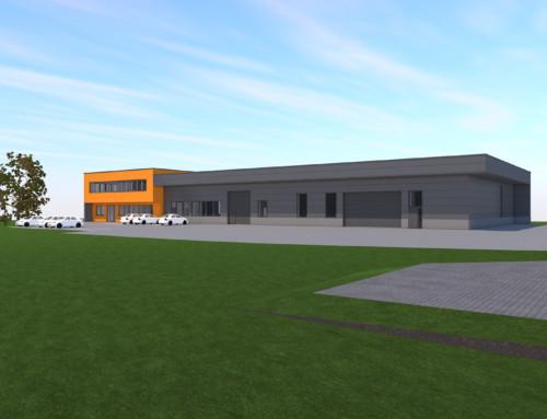 st steeltrade Edelstahlhandel GmbH – Neubau Büro und Lager in Steinhaus