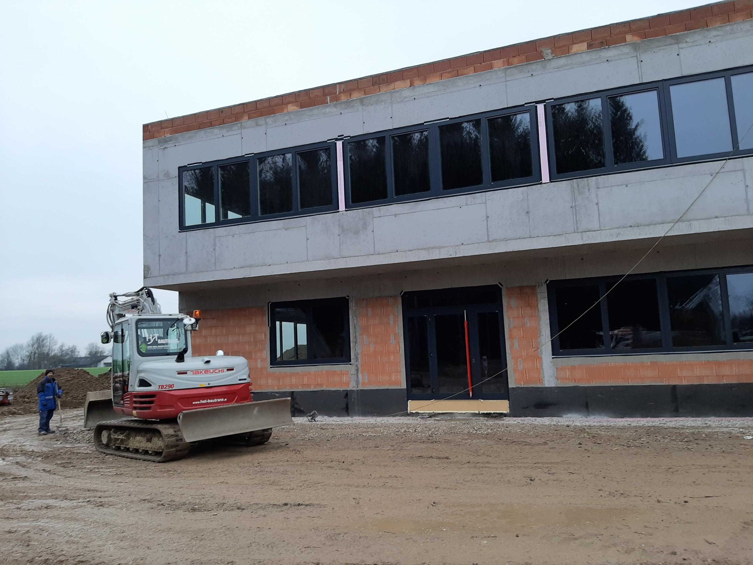 Projektupdate – st steeltrade GmbH – Neubau Büro und Lager in Steinhaus